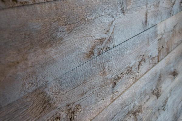 Wall cladding wood oak charred